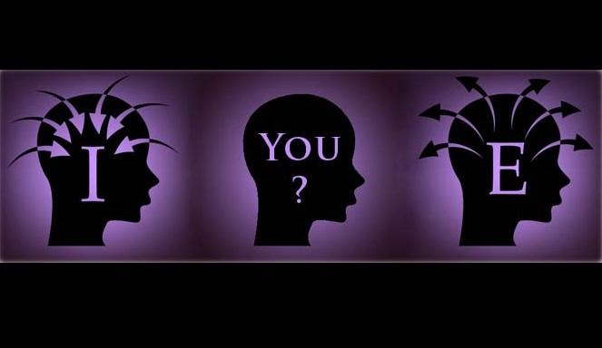 Tipos Psicológicos - Extroversão ou Introversão